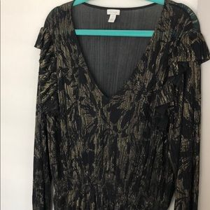 Nordstrom Hinge Blouse (Excellent Condition)